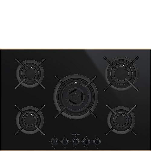Cokin PV675CNR integrierter Gas Gas Schwarz, Kupfer - Platte (eingebaut, Gaskochfeld, Glas und Keramik, Schwarz, Kupfer, Gusseisen, 1100 W)