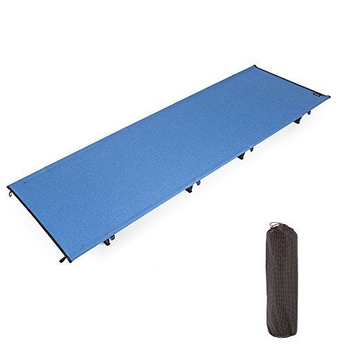Lixada Outdoor Vouwbed, Draagbare Camping Katoen, Lichtgewicht Camping Slaapbed, Waterbestendig Vochtbestendig Camping Tent Mat voor Indoor Outdoor Camping Wandelen Vissen