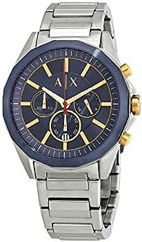 Armani Exchange Chronograph Navy Blue Dial Men's Watch