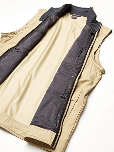 ExOfficio Men's FlyQ Convertible Jacket, Light Khaki, Medium