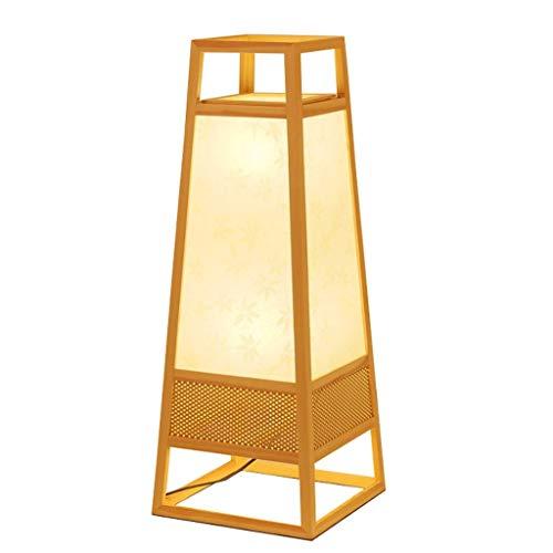 Lámparas de Pie Prime Sala de estar moderna Lámpara de pie japonesa Lámpara de mesita de noche Dormitorio Decoración del hogar Lámpara estándar Lámpara de ahorro de energía E27 Lámpara de Piso