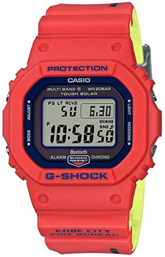 Casio G-Shock GW-B5600FB-4JR Kobe City Fire Bureau Rescue Team 50th Anniversary Collaboration Radio Solar Uhr (Japan Home Genuine Products)