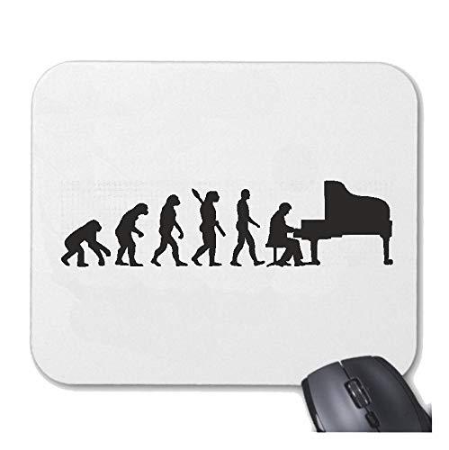 Helene Mousepad - Mauspad Klavier Piano - KLAVIERSPIELER - KLAVIERUNTERRICHT - PIANOUNTERRICHT - Piano Spielen für ihren Laptop, Notebook oder Internet PC