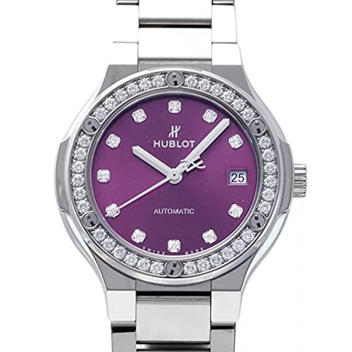 ウブロ HUBLOT クラシックフュージョン インテグレーテッド 568.NX.897V.NX.1204 パープル文字盤 新品 腕時計 レディース (W207247) [並行輸入品]