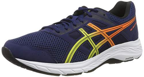 Asics Gel-Contend 5, Zapatillas de Running para Hombre, Azul (Blue Expanse/Sour Yuzu 405), 42.5 EU