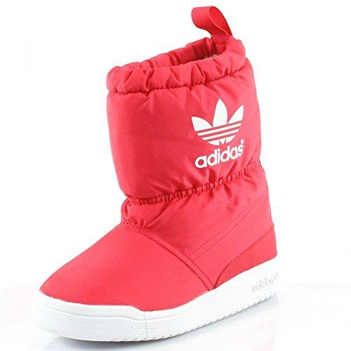 adidas Slip On Boot K Winterstiefel Kinder rot