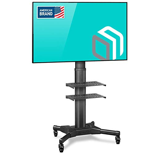 """ONKRON Supporto TV da Pavimento con rotelle da 32"""" - 55"""" Pollici LCD LED QLED VESA max. 600x400mm - Supporta fino 27 kg - TS2551"""
