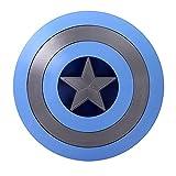 HLWJXS Escudo del Capitán América, Material ABS, Accesorios de Cosplay, plástico para niños, Accesorios de edición de películas de Mano, Juego de Roles para niños, Disfraz de superhéroe B, 58 CM