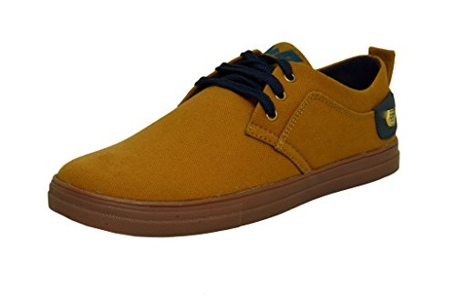 West Code Mens Shoes Synthetic Leather Casual Shoes and Casual Sneakers J-10-Tan Colour Shoes Online -9