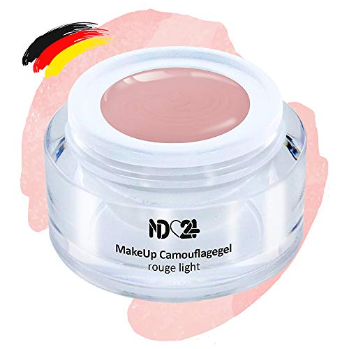 Make Up Camouflage Aufbau - Gel Rouge Light - Babyboomer - Studio Qualität - Made in Germany - 5ml
