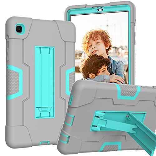 Funda resistente para Samsung T220/T225, Slim Armor Case para Galaxy Tab A7 Lite de 8.7 pulgadas, funda híbrida de triple capa con soporte abatible para Samsung Galaxy Tab A7 Lite [SM-T220/T225]
