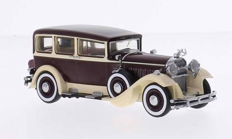 Pierce Arrow Model 133, dunkelrot beige, 1929, Modellauto, Fertigmodell, Dongguan 1 43 B015FZ1ETK  Schönes Design | Grüne, neue Technologie