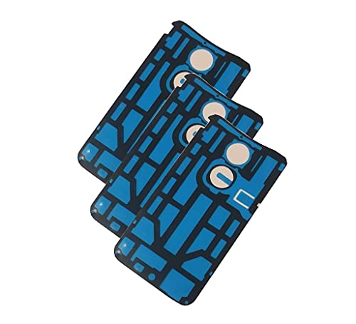 Rear Battery Door Back Cover Case Tape Adhesive Sticker for Motorola Moto X 2nd Gen XT1097 XT1096 XT1095 (Pack of 3)