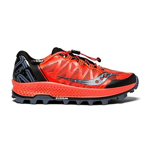 Saucony KOA ST, Zapatillas de Deporte para Mujer, Negro (Blk/Den/Copa 3), 39 EU