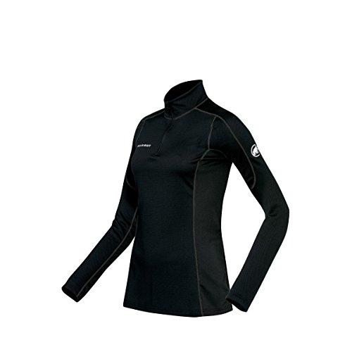 Mammut Go Warm T-Shirt Manches Longues Femme, Noir, FR : L (Taille Fabricant : L)