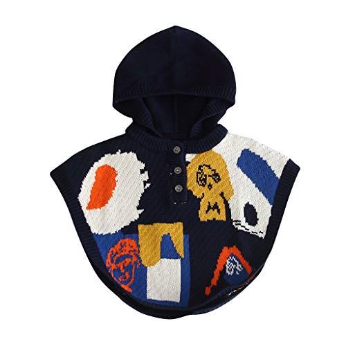Weilov Bébé Hiver Épais Infant Enfants Cap Pour Les Filles Manteau À Capuche Veste Cape Confortable Combinaison Chaude Barboteuse
