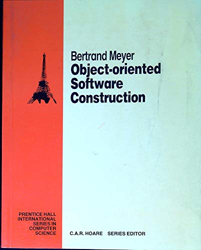 Object-Oriented Software Constructionの詳細を見る