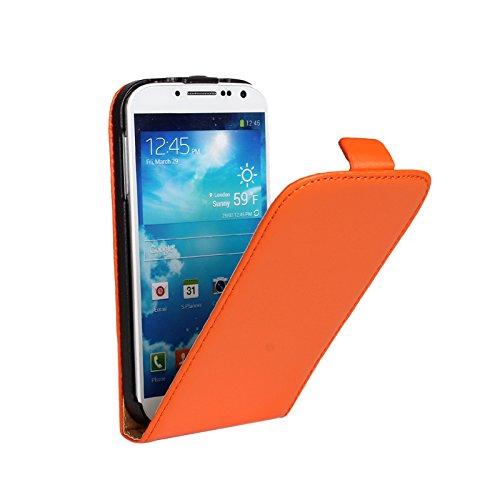 EximMobile Flipcase Handytasche Etui Tasche für Huawei Ascend P6 Orange