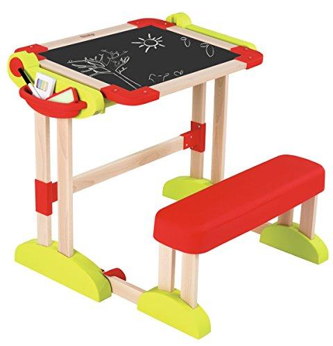 Scrivania bambini Banco Scuola Modulo Space in Legno con Accessori Smoby Activity 7600028112