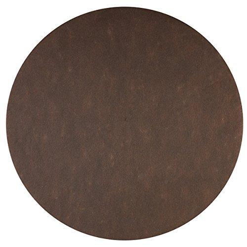 Santex Set de Table Rond Chocolat (x50) REF/2812