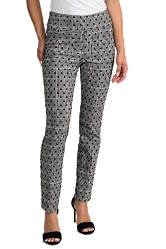 Joseph Ribkoff Black White & Brown Pants Style 201647 - Spring 2020 Collection (4)