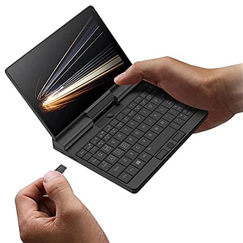 Una Netbook A1 360 Grados 2 en 1 Bolsillo Laptop Original Stylus Pen + Intel M3-8100Y 8GB RAM 512GB PCIE SSD + Funda Protectora (Size : Without Pen)
