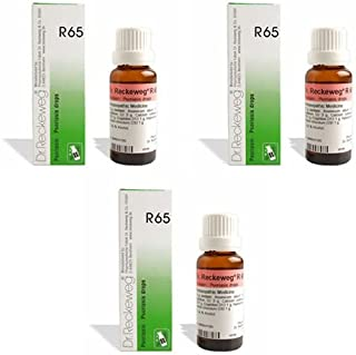 3 Lots X Dr.Reckeweg R 65 Homeopathic Remedy Drops - 22 ML