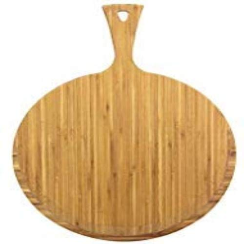 Totally Bamboo BA202280 Pelle à Pizza Greenlite avec poignée en Bambou compatible lave-vaisselle 45 x 33 cm