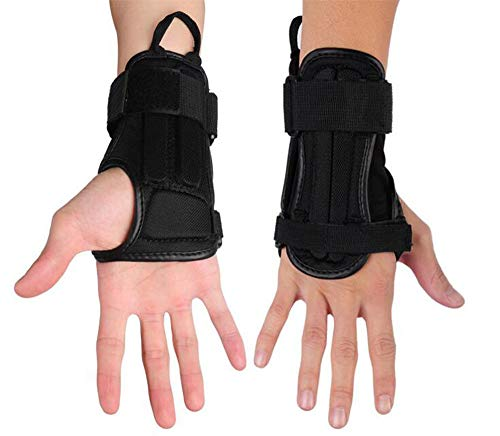 CTHOPER Impact Wrist Guard Fitted Wrist Brace Wrist Support for Snowboarding, Skating, Motocross,...
