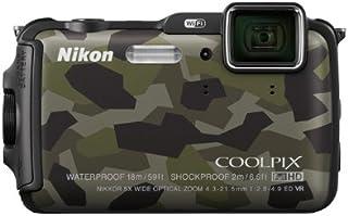 Nikon デジタルカメラ AW120 防水 1600万画素 カムフラージュ AW120GR