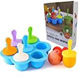 Khoml Silicone Popsicle Molds, Baby Popsicle...
