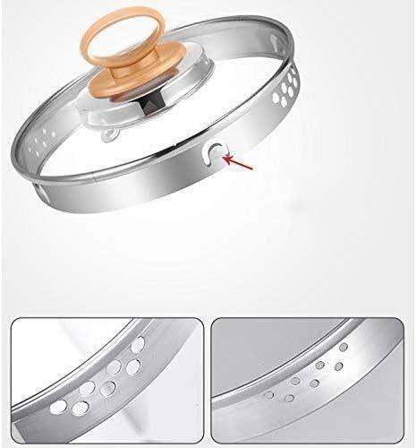 Wyxy Bouilloires Bouilloire Automatique de Grande capacité de 1,8 L, 24 Grands Pots de santé en Verre épais (Couleur: B, Taille: Moyenne) A