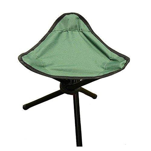 Suyi Leichter, tragbarer Klapp-Stativ/Dreieckiger Campingstuhl mit 3 Beinen, Kinder-Hochstuhl, für Camping, Wandern, Angeln, Strand, Picknick-Stände