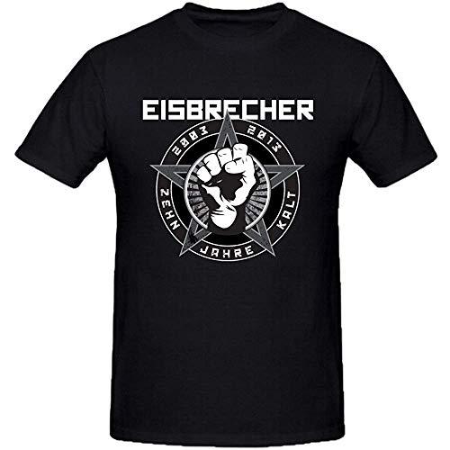 Daryl Cousins Eisbrecher Zehn Jahre Kalt Mens Sexy Tee Shirts O Neck (Size:L