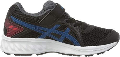 ASICS Unisex-Child 1014A034-006_33,5 Running Shoes, Black