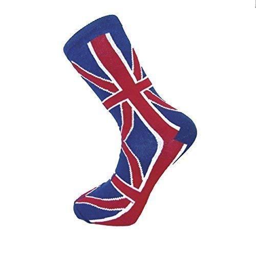 New Man cheville-Union Jack-Drapeau anglais-UK une Paire de chaussettes de qualité, Taille : 39-45