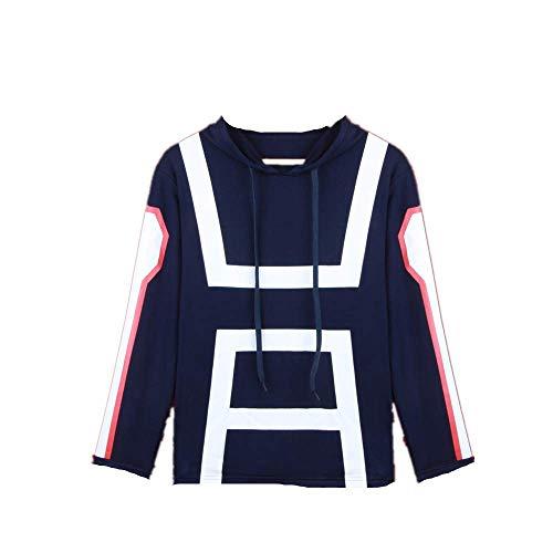 JLCYYSS Anime My Hero Academia Sweatshirt Hoodie Mantel Jacke Sweatshirt für Frauen Männer Anime Fans Geschenk Hohe Qualität Eine Vielzahl von Stilen