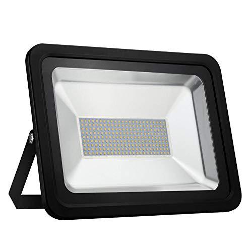Proyector LED de 150 W Luz de Exterior Blanca cálida Proyector...