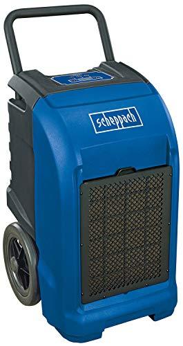 Scheppach Bautrockner DH6500i (750 W, Entfeuchtungsleistung 65L/Tag, Luftfeuchtigkeit 26-90%, Umwälzung 400m³/h, Umgebungstemperatur 5°-35°, Raumgröße 80 – 100m², 5m Abflussschlauch)