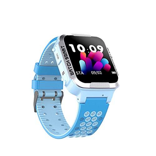 Uhr Tracker mit SOS Voice Chat, Smartwatch Uhren Kinder Wasserdicht Farbbildschirm Pulsuhren Schrittzähler Uhr Smart Watch Fitness Uhr für Kinder Junge Mädchen Geburtstagsgeschenk