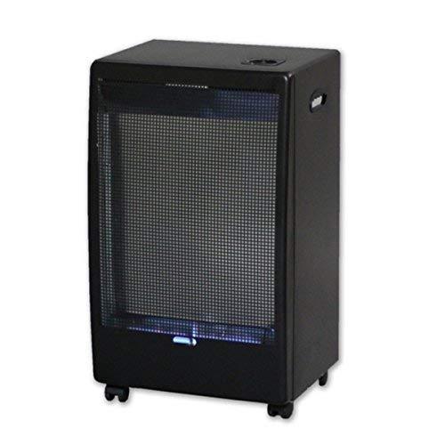 ElectrodomesticosN1 Pack Estufa Jocel de Butano JAG014122 Catalítica, 2500 W + Regulador de Gas butano HVG, Tubo Manguera 0,8 Metros, Abrazaderas