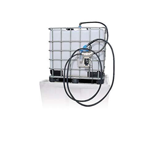 Certeo | Pumpsystem für AdBlue mit universeller Konsole für IBC Container | AdBlue Pumpsystem Membranpumpe Fasspumpe Tankanlage