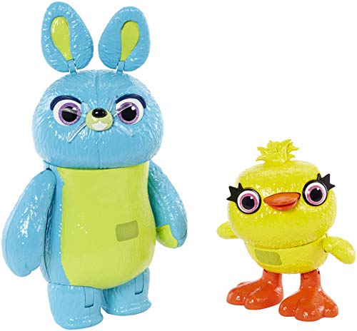 Disney- Pixar Toy Story Ducky and Bunny, Multicolor, Pack de