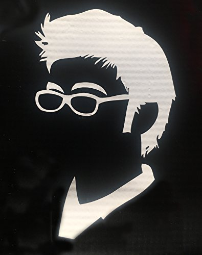 DOCTOR WHO TENTH DOCTOR SILHOUETTE vinyl decal for computer, car, whatever!
