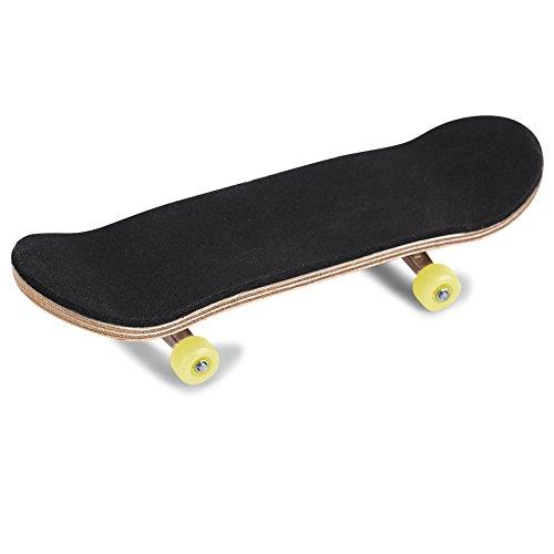 Haokaini 1Pc Mini Fingerskateboard Griffbrett aus Ahornholzlegierung Ultimative Sporttrainingsstützen mit Box um Druckgeschenke zu Reduzieren
