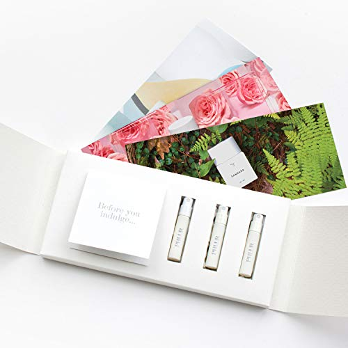 Perfume Sample Set for Women by PHLUR - Clean, Hypoallergenic, Vegan and Cruelty Free. Includes Hanami, Sandara  Connecticut