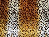 PANNESAMT Leopard Samt Stoff bedruckt Meterware