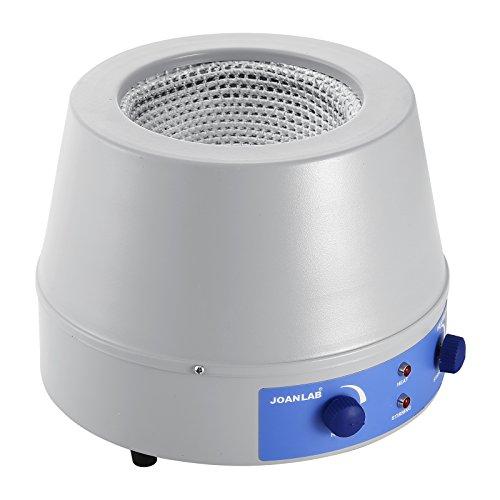 Moracle Agitador Magnético Calendario 1000ml Mezclador de Calentamiento Magnético Manto Control Electrónico de Temperatura Manguito de Calefacción Analógico 350W (1000ML)