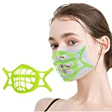 Soporte de 3D, Extensor de Correa de 𝐌𝐚𝐬𝐜𝐚𝐫𝐢𝐥𝐥𝐚𝐬, 𝐌𝐚𝐬𝐜𝐚𝐫𝐢𝐥𝐥𝐚𝐬 Inner Support, 3D Breathing Bracket, Face Inner Breathing Support Frame, Cómodo, Lavable, Reutilizable, 1-6 pcs