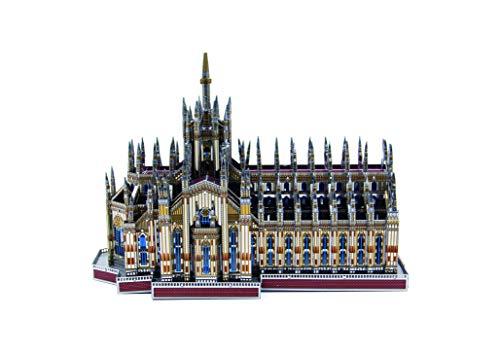 3D 금속 퍼즐 이탈리아의 유명한 건축 모델을 구축 장비 레이저 절단 소 두뇌-미생물의 J045 밀라노 대성당(두오모에는 밀라노)